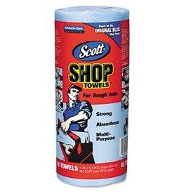Blue Shop Towels 55 Sheet Roll