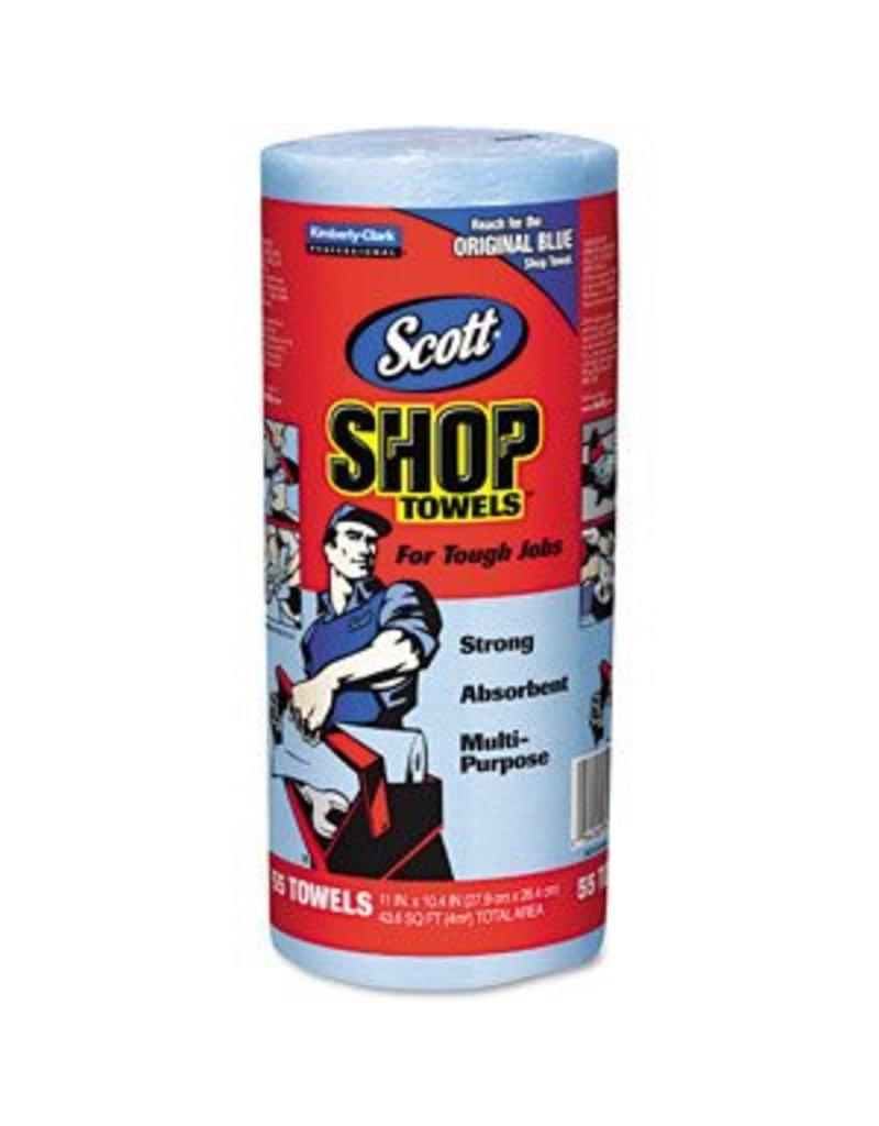 Just Sculpt Blue Shop Towels 55 Sheet Roll