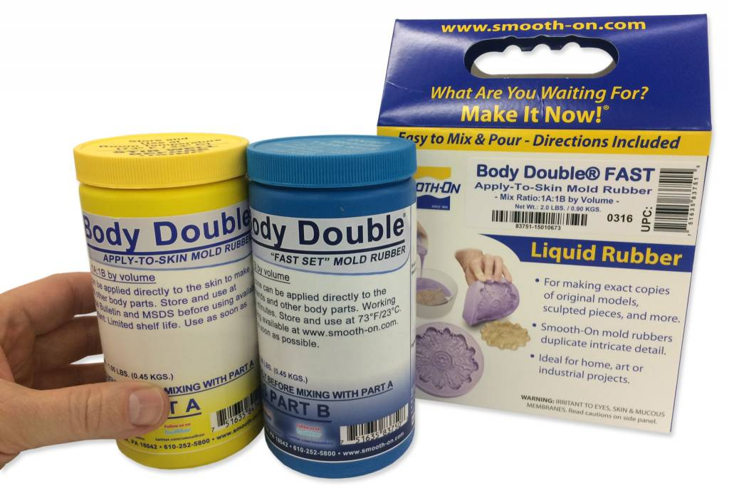 Smooth-On Body Double Fast Trial kit
