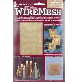 Amaco Brass Fabric  16''x20'' 1 Sheet Wireform