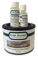 Sculpt Nouveau C Metal Coat Brass 16oz Kit
