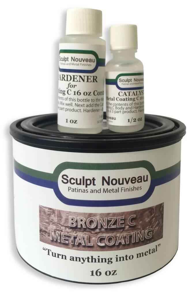 Sculpt Nouveau C Metal Coat Bronze 16oz Kit