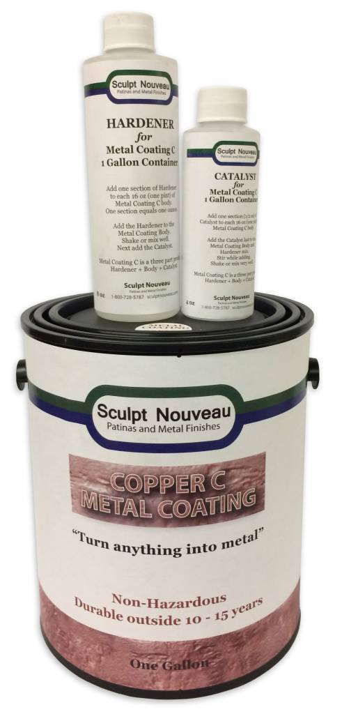 Sculpt Nouveau C Metal Coat Copper Gallon Kit
