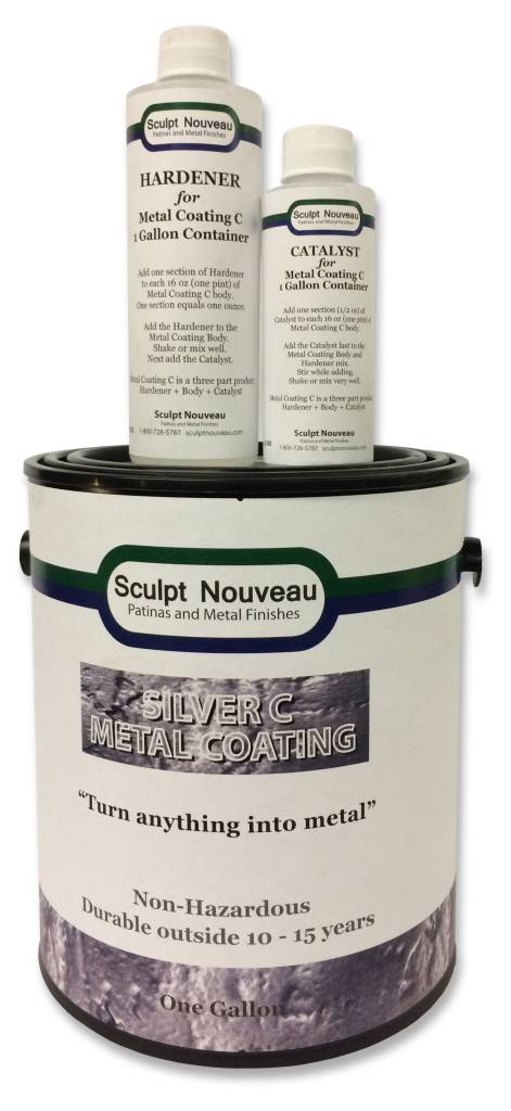 Sculpt Nouveau C Metal Coat Silver Gallon Kit