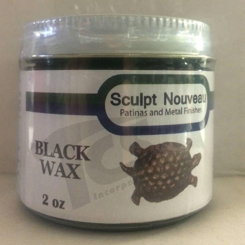 Sculpt Nouveau Metal Wax Black 2oz