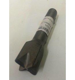 Trow & Holden Carbide Pneumatic Criss Cross Chisel 5/8'' x 1/2'' Shank