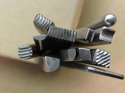 U.J. Ramelson Chasing Tool Set 12pc Long