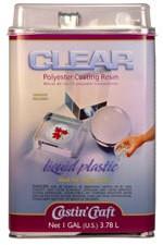 ETI Clear Polyester Casting Resin Gallon Kit