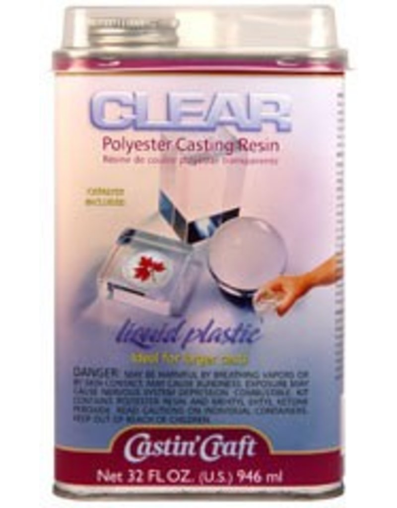 ETI Clear Polyester Casting Resin Quart Kit
