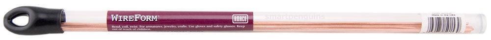 Amaco Soft Metal Rods Copper Medium 14 gauge