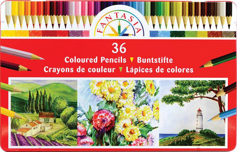Colored Pencil 36pc Set