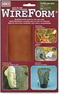 Amaco Copperform Mesh 16''x20'' 1 Sheet Wireform