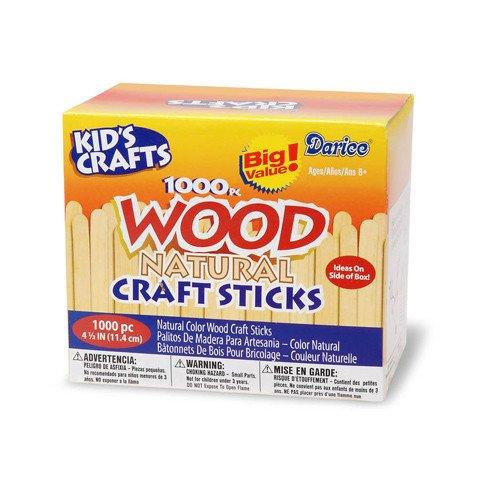 Loew-cornell Craft Sticks 1000pc Box