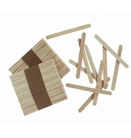 Darice Wood Craft Sticks - Natural - 4.5 inches - 150 pieces