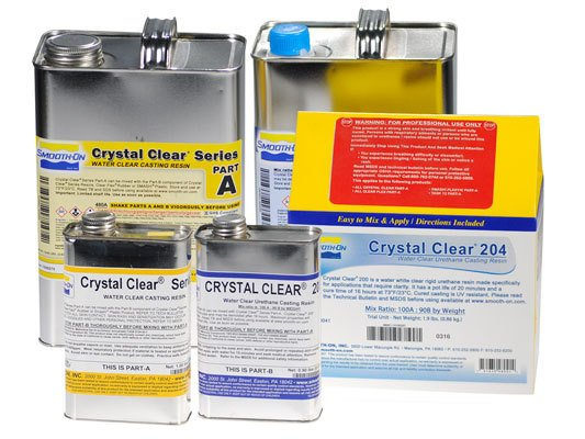 Smooth-On Crystal Clear 204 Trial Kit