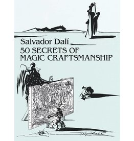 Dover Publications Dali 50 Secrets of Magic Craftmanship Book