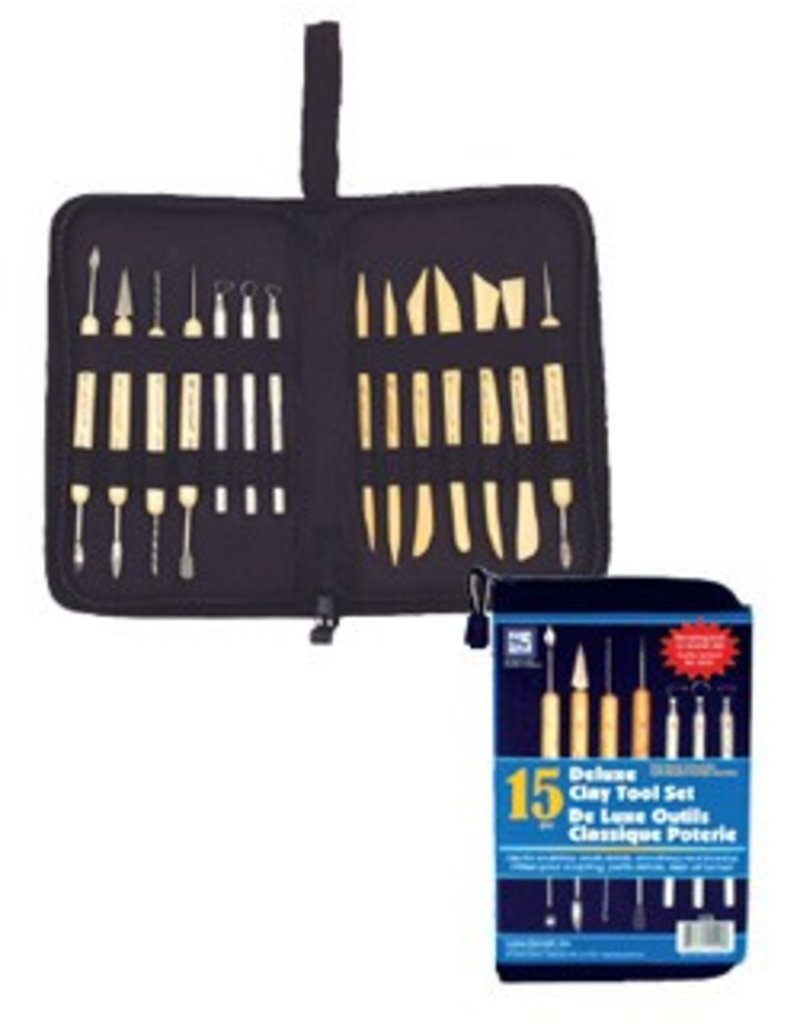 Just Sculpt Deluxe Clay Tool 14pc Set