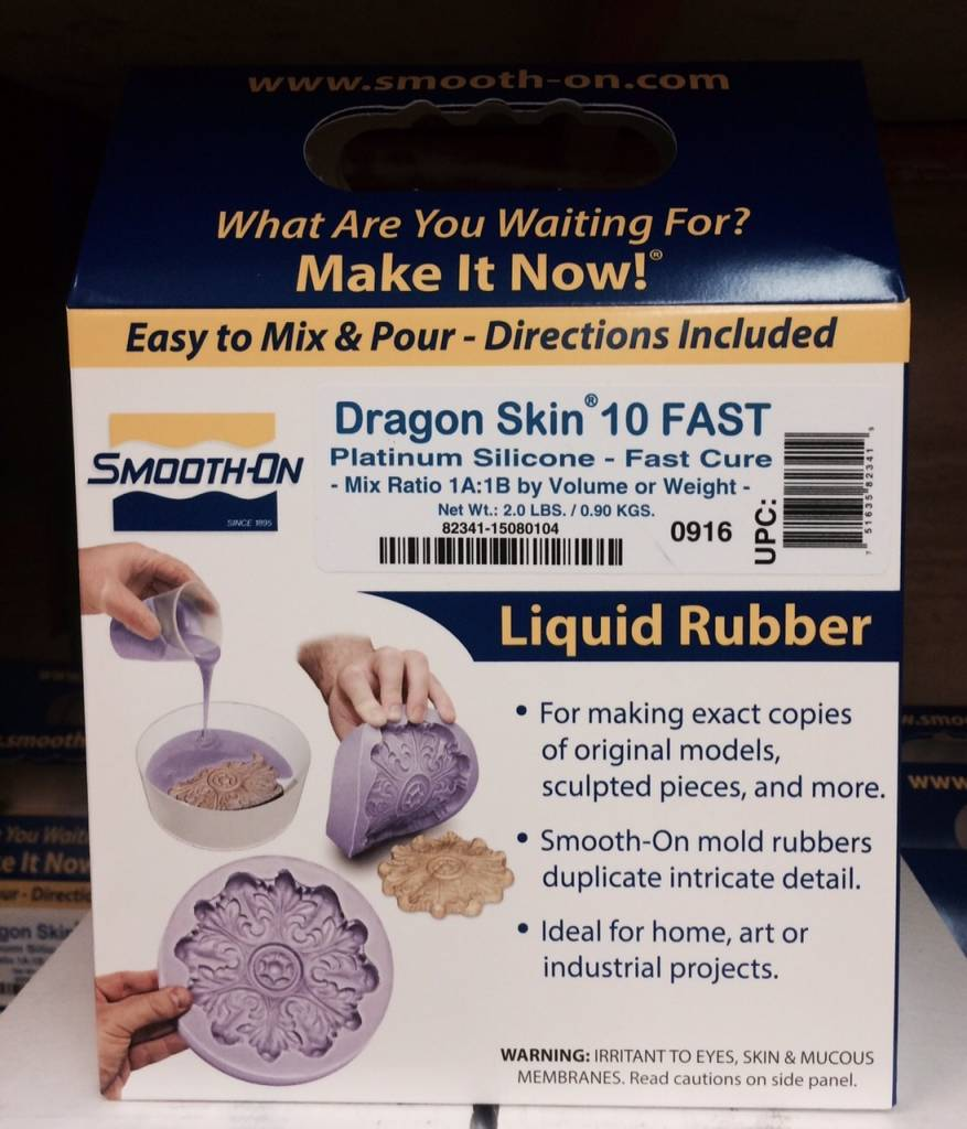 Smooth-On Dragon Skin 10 Fast Trial Kit