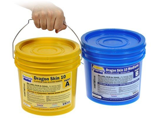 Smooth-On Dragon Skin 10 Medium (2 Gallon Kit)