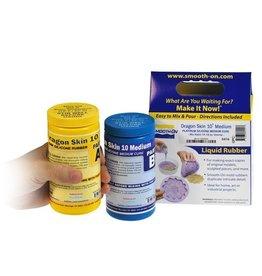 Smooth-On Dragon Skin 10 Medium Trial Kit