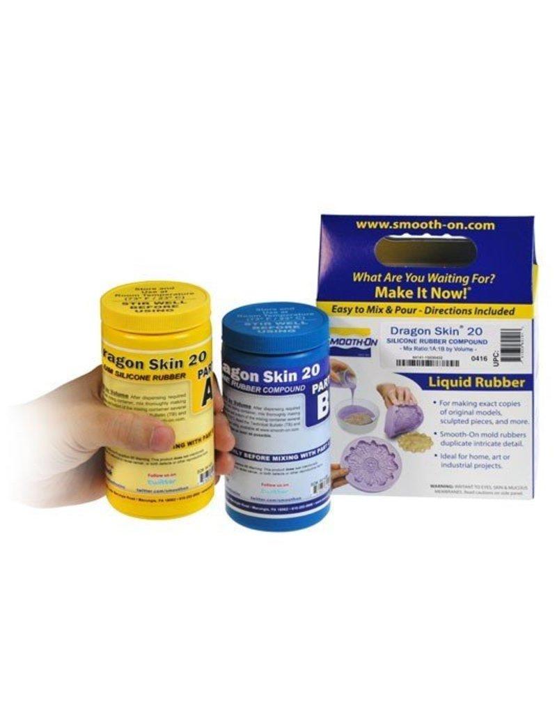Smooth-On Dragon Skin 20 Trial Kit
