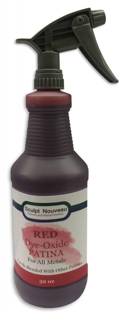Sculpt Nouveau Dye Oxide Red 32oz