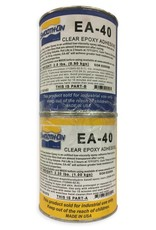 Smooth-On EA-40 Quart Kit Transparent Laminating Epoxy Adhesive