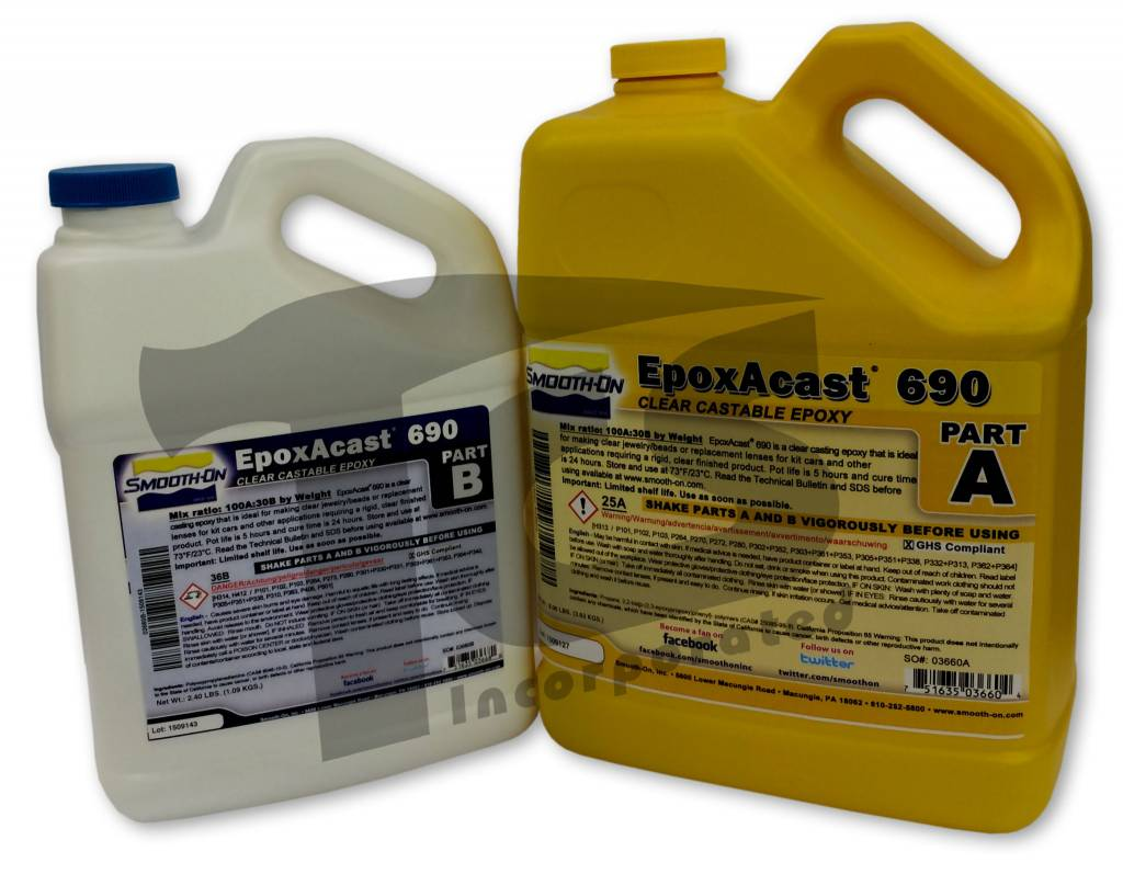 EpoxAcast 690 Gallon Kit Special Order - The Compleat Sculptor