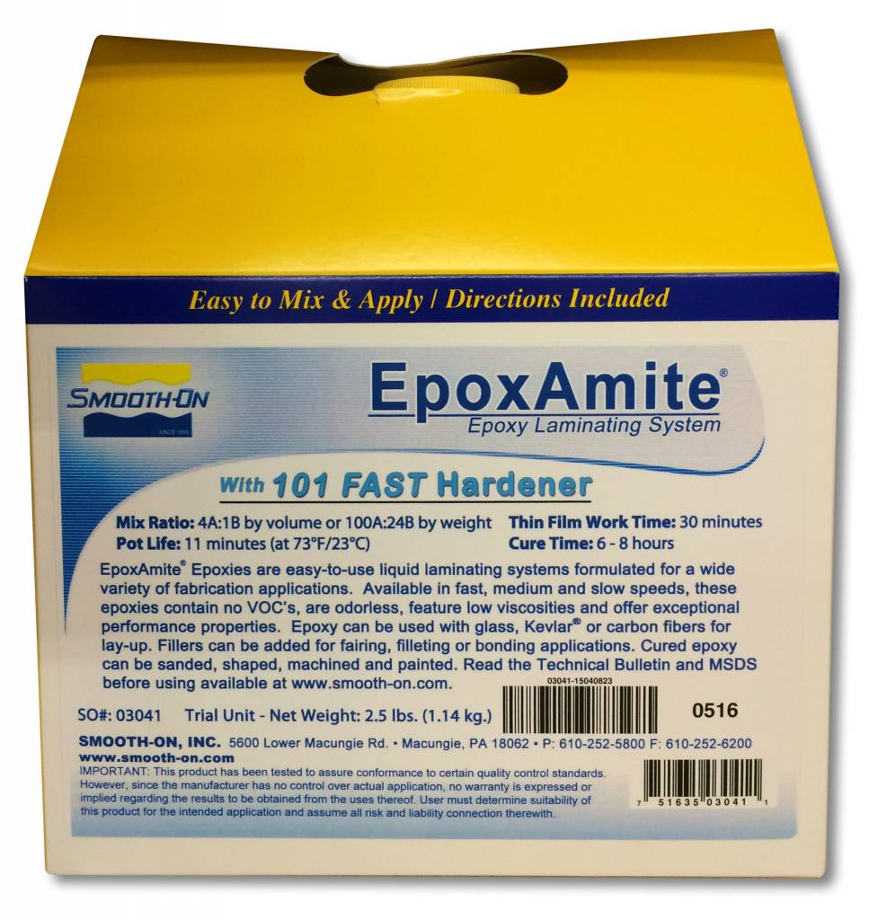 Smooth-On Epoxamite 101 Fast Trial Kit