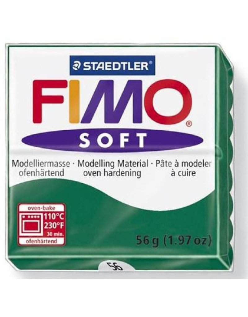 Fimo Soft Emerald #56 2oz