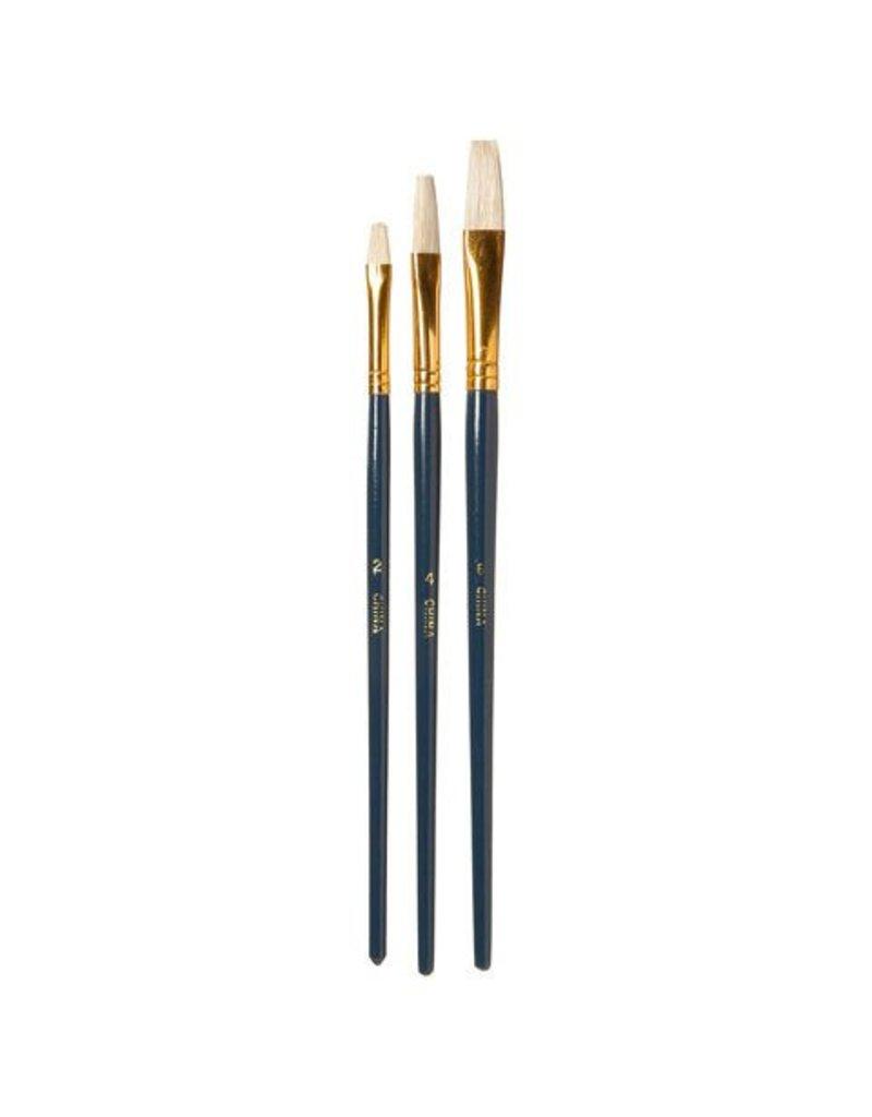Just Sculpt Flat Brush Set #2,4,6