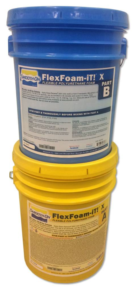 Smooth-On FlexFoam-iT X 10 Gallon Kit