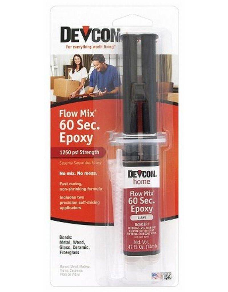 Protective Coating Company Flowmix 60 Second Epoxy Syringe