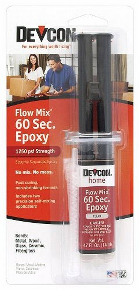 Flowmix 60 Second Epoxy Syringe