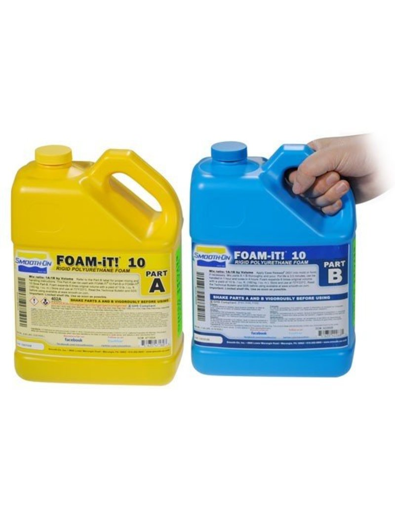 Smooth-On Foam-iT 10 (2 Gallon Kit 15lbs)