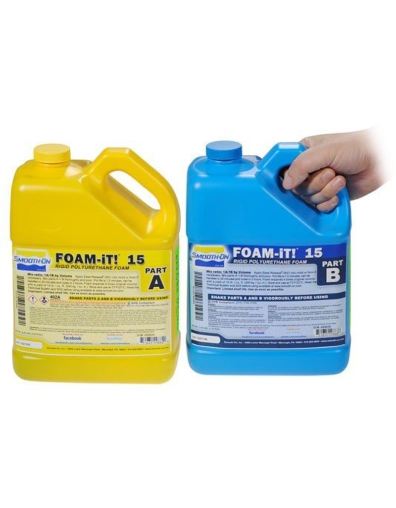 Smooth-On Foam-iT 15 (2 Gallon Kit 15lbs)