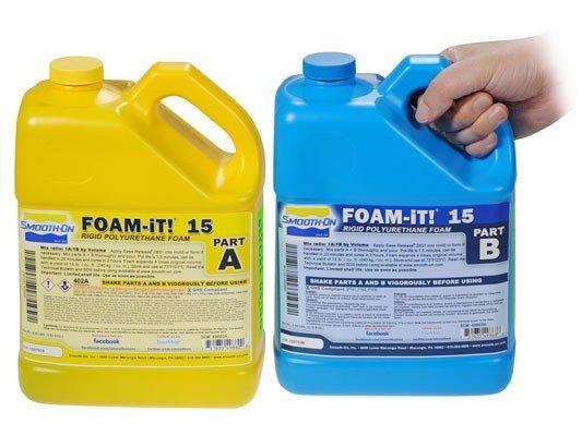 Smooth-On Foam-iT 15 (2 Gallon Kit 15lbs)