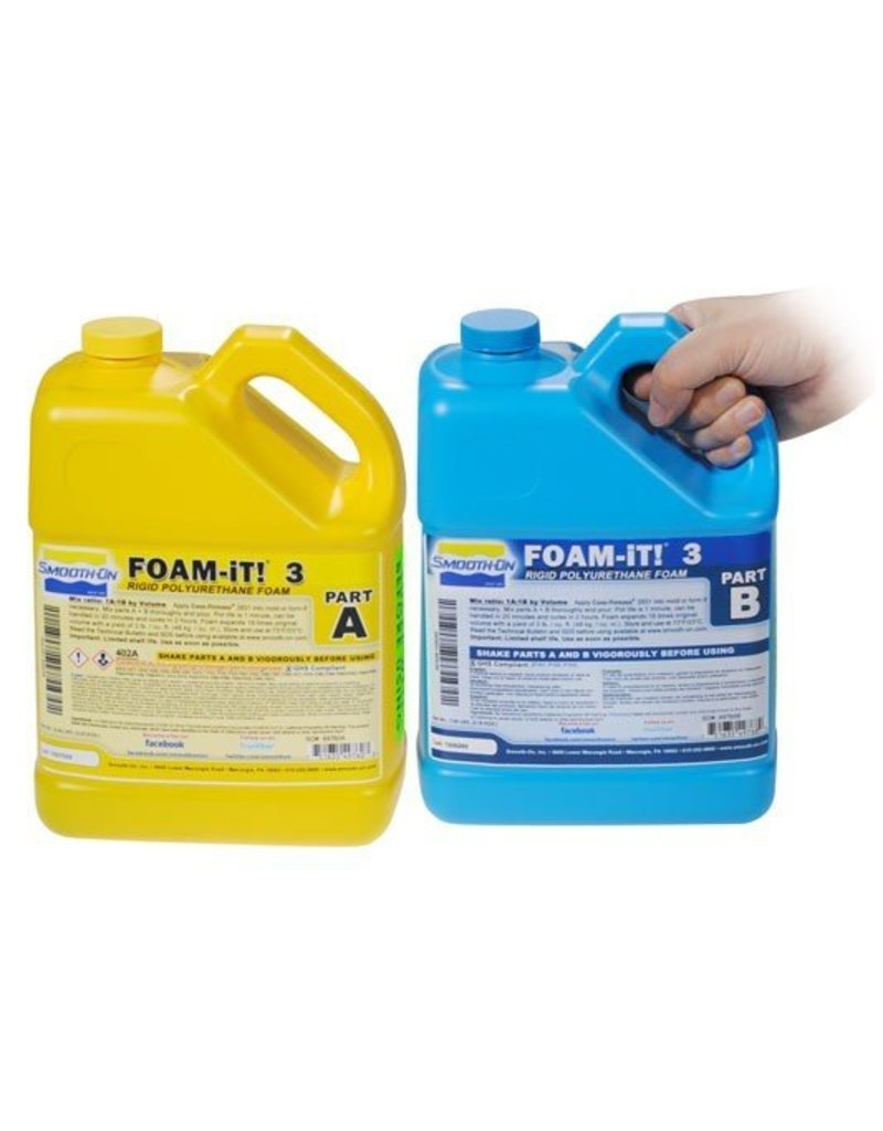 Smooth-On Foam-iT 3 (2 Gallon Kit 15lbs)