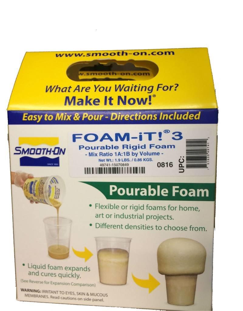Smooth-On Foam-iT 3 Trial Kit (2lbs)