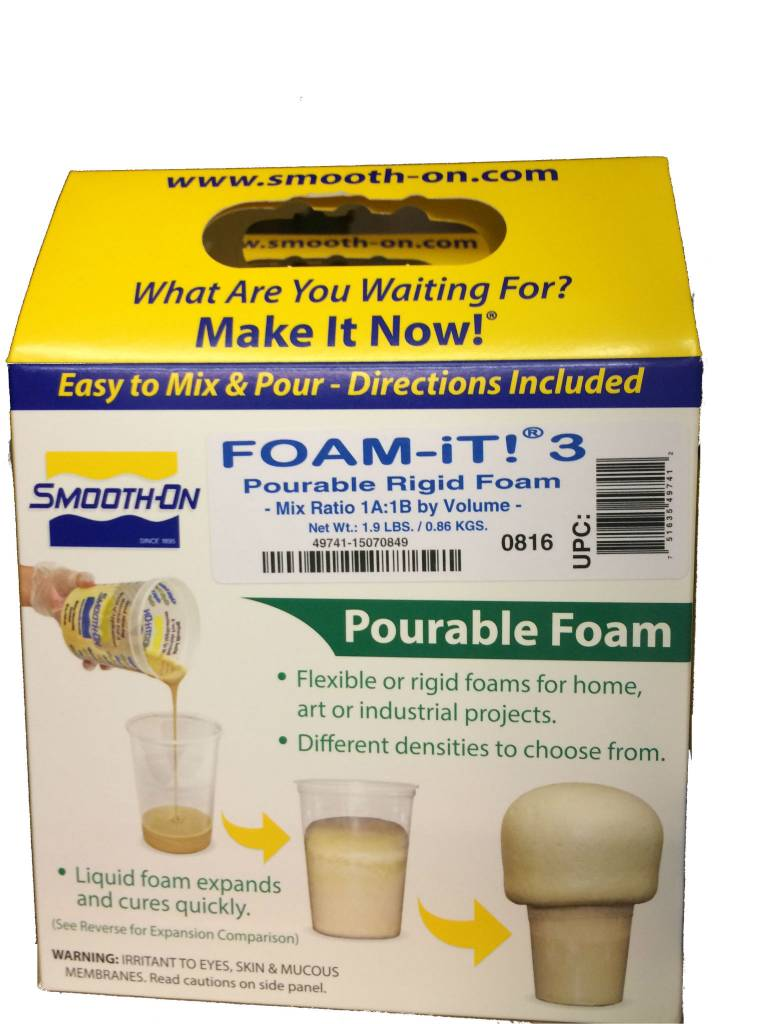 Smooth-On Foam-iT 3 Trial Kit (2lbs)