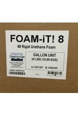 Smooth-On Foam-iT 8 3 Gallon Kit (24lbs)