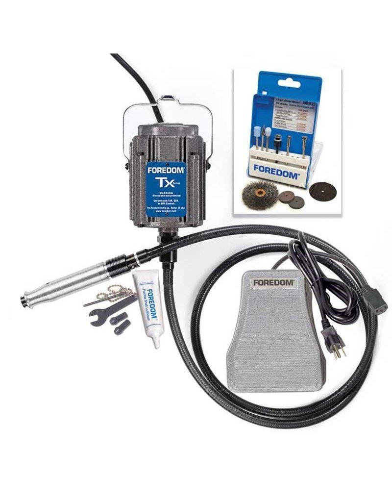 Foredom Industrial Flexible Shaft Kit with Square Drive Shafting TXH440
