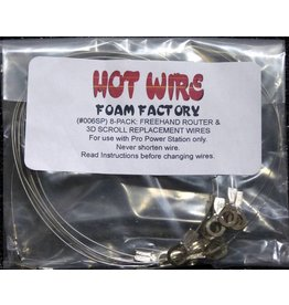 Hot Wire Foam Factory Freehand Router Replacement Wires (8-pack)