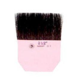"Sepp Leaf S.L.P. Gilders Tip - Single - 3"" width x 2"" Length - Grey Talahuthy Squirrel Hair- French"