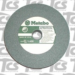 "Metabo Green Wheel 10""x1"" 80 Grit Metabo Silicone Carbide"