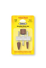 Dedeco International Grinding Stone Set 3pc AO