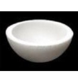 Styrofoam Half Hollow Ball 8''