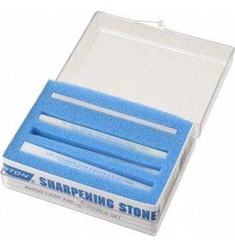 Hard Arkansas Set of 5 Sharpening Stones