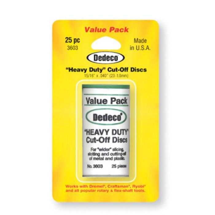 Dedeco International Heavy Duty Cutoff Discs