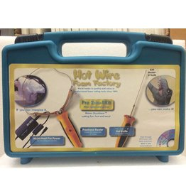 "Hot Wire Foam Factory K44 Pro 2-in-1 Kit (Freehand Router & 8"" Hot knife)"